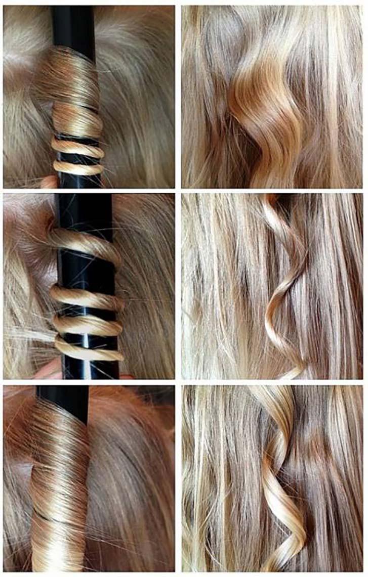 Как сделать, чтобы на волосах держались кудри - wikiHow 66